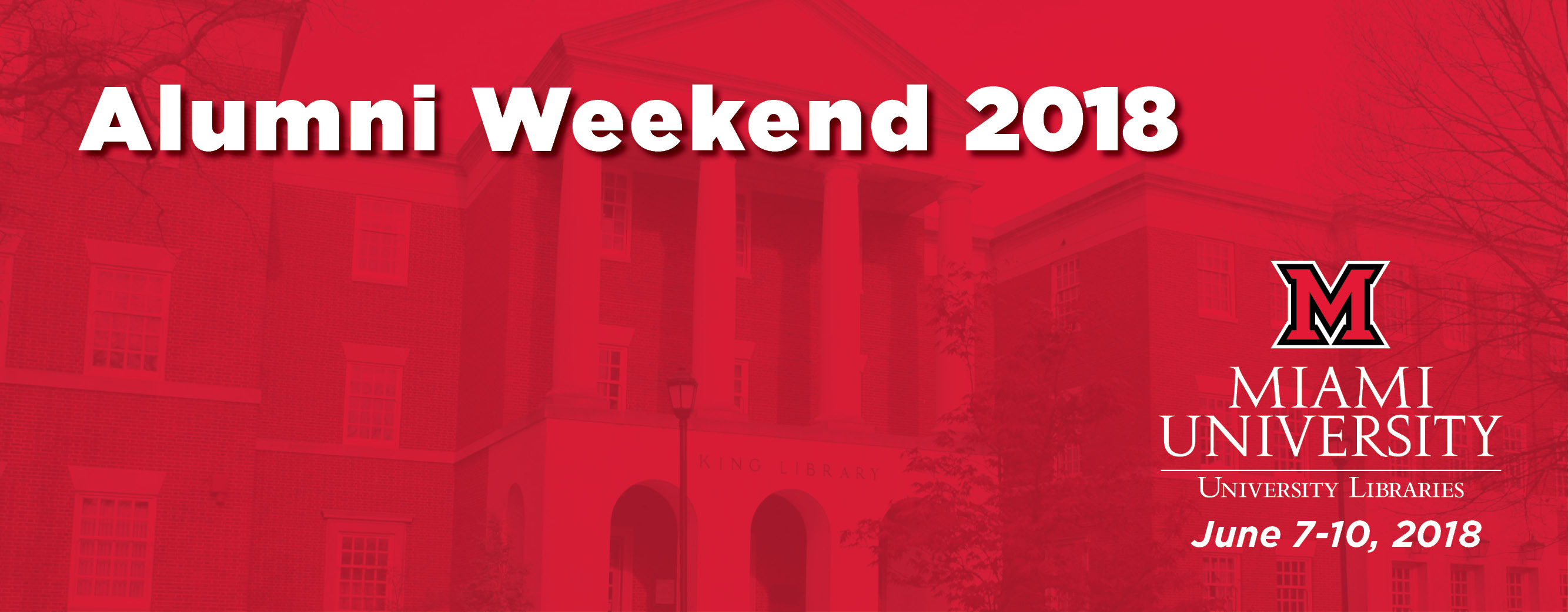 Alumni Weekend 2018: June 7-10