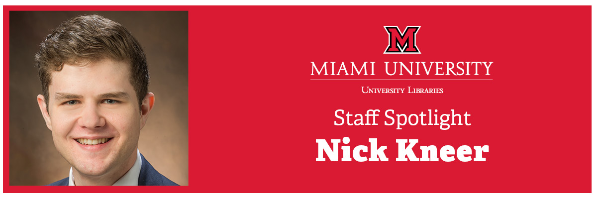 Staff spotlight: Nick Kneer, communications specialist