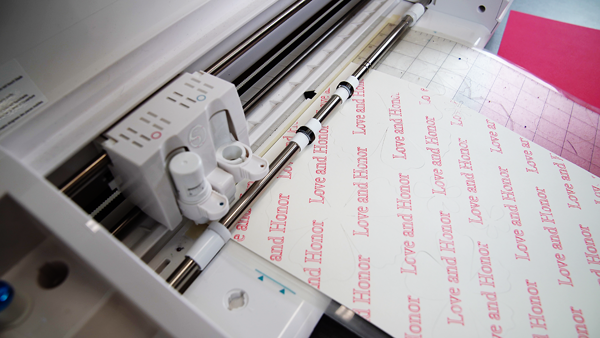 Silhouette Cameo paper and vinyl cutter