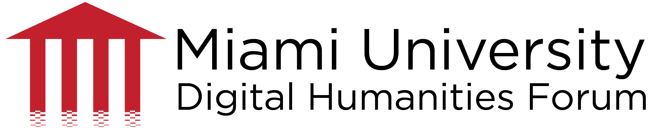 Miami University Digital Humanities Forum